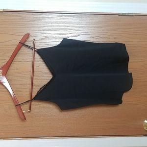 NWT Express Black Lace Spaghetti Strap Camisole Size Small